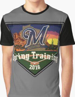 Milwaukee Brewers Spring Training 2016  Graphic T-Shirt