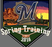 Milwaukee Brewers Spring Training 2016  by dswift