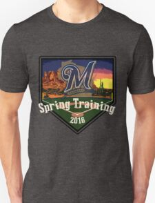 Milwaukee Brewers Spring Training 2016  Unisex T-Shirt