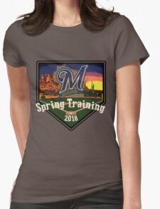 Milwaukee Brewers Spring Training 2016  Womens Fitted T-Shirt