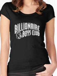 old billionaire boys club bape Women's Fitted Scoop T-Shirt
