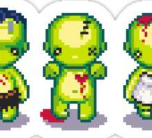 The Zombie Hoard Sticker
