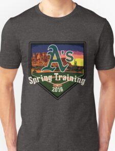 Oakland A's Spring Training 2016 Unisex T-Shirt