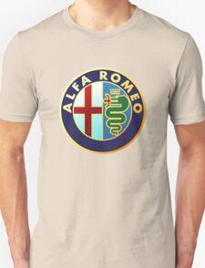 alfa romeo retro vintage Unisex T-Shirt