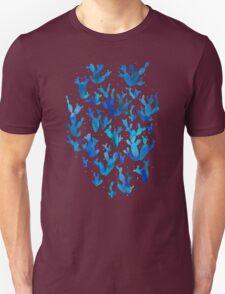 Desert night with cactus Unisex T-Shirt