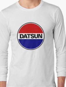 datsun emblem old vintage Long Sleeve T-Shirt