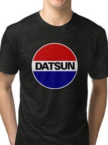 datsun emblem old vintage Tri-blend T-Shirt