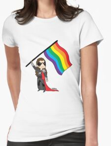 Lexa - Ready to Fight Womens Fitted T-Shirt