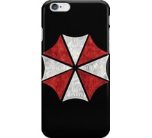 Resident Evil Umbrella Typography iPhone Case/Skin