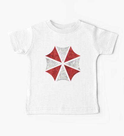 Resident Evil Umbrella Typography Baby Tee