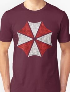 Resident Evil Umbrella Typography T-Shirt