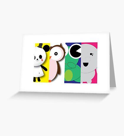 Fab Four Greeting Card