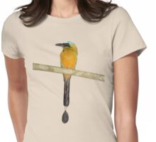 Blue-Crowned Motmot Womens Fitted T-Shirt
