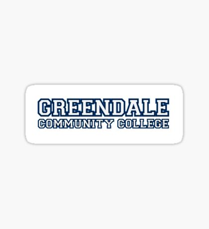 Greendale community college Sticker
