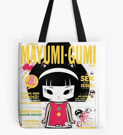 Mayumi Magazine Tote Bag