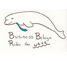 Business Beluga Photographic Print