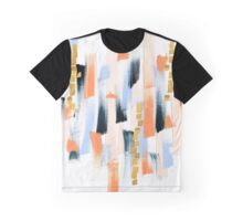 Abstract Paint Graphic T-Shirt