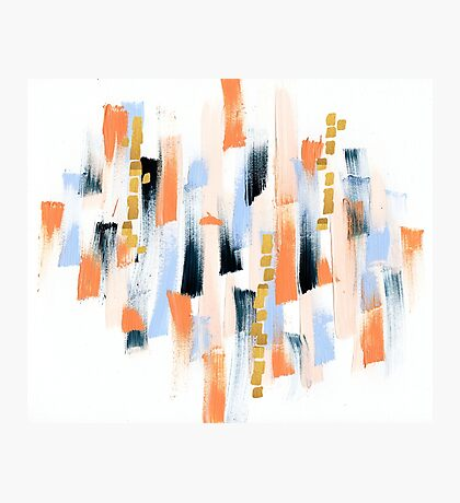 Abstract Paint Photographic Print