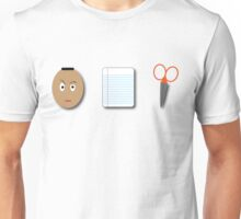 The Rock, Paper, scissors Unisex T-Shirt