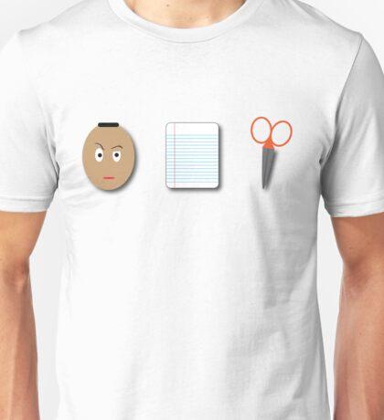 The Rock, Paper, scissors Unisex T-Shirt