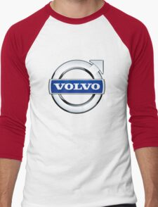 volvo wagon vintage Men's Baseball ¾ T-Shirt