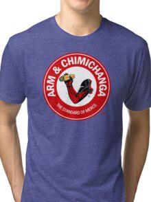Arm and Chimichanga Tri-blend T-Shirt