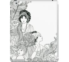 1920s Ladies iPad Case/Skin