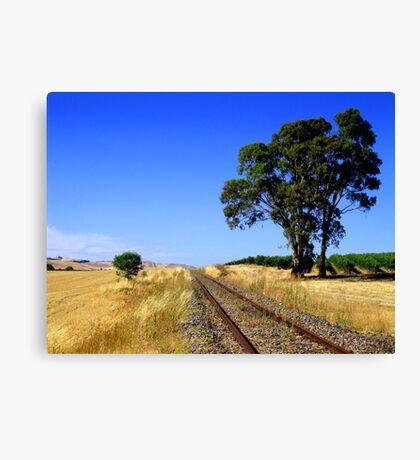 Rail Track to Nowhere Canvas Print