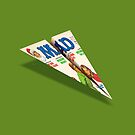 MAD Paper Airplane 188 by YoPedro