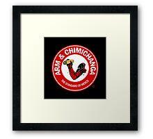 Arm and Chimichanga Framed Print