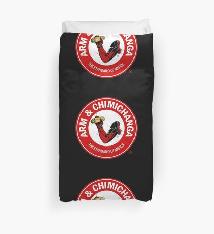 Arm and Chimichanga Duvet Cover