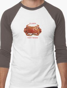 Claws Not Wars Men's Baseball ¾ T-Shirt