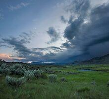 Storm over Lamar Valley, Yellowstone by Matt Tilghman