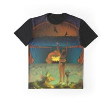 Hanging on is often tricky when the sky descends too quickly Graphic T-Shirt