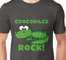 Animals Crocodiles Rock Unisex T-Shirt