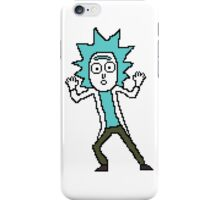 Tiny Rick - Rick and Morty Pixel Art 128x128 iPhone Case/Skin
