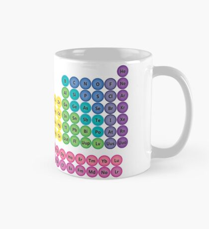 Periodic Table of Element Icons Mug