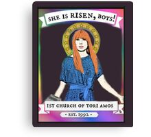 Church Of Tori Amos (transparent background) Canvas Print