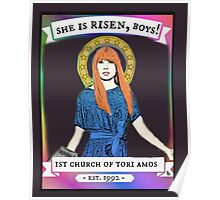Church Of Tori Amos (transparent background) Poster