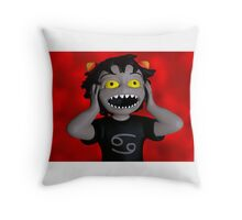 Karkat's Freakout Lava Throw Pillow