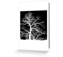 Lightning Tree Greeting Card
