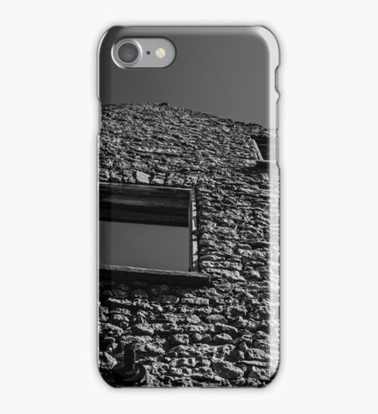 Abandoned Building - Elora, Ontario iPhone Case/Skin