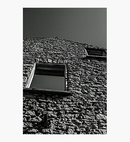 Abandoned Building - Elora, Ontario Photographic Print