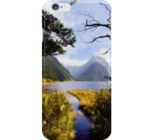 At Milford Sound iPhone Case/Skin