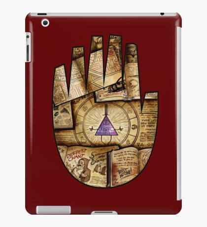 Bill Cipher Journal Cover iPad Case/Skin