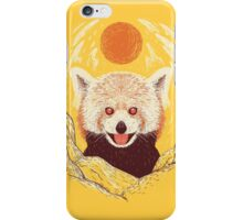 Red Panda on a Sunny Day iPhone Case/Skin