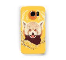 Red Panda on a Sunny Day Samsung Galaxy Case/Skin