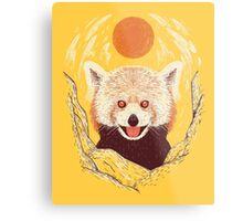 Red Panda on a Sunny Day Metal Print
