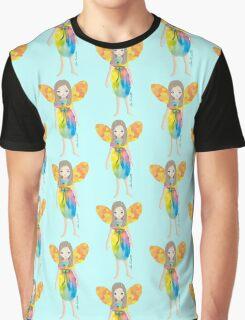The Littlest Fae - Faery - Fairy- Rainbow  Graphic T-Shirt