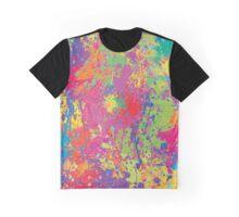 Modern Neon Pollock by Rhode Island Arts Graphic T-Shirt